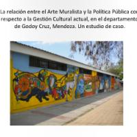 Arte Muralista y  Política Publica con respecto a la Gestión Cultural actual