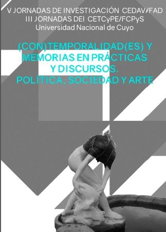 afiche jornadas arte politica y sociedad
