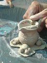 producción de piezas del primer año de trabajo en Rayito